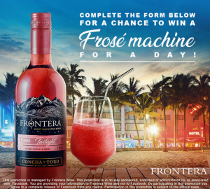 Frontera – Win 1 of 3 prize packages valued at $600 each