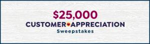 HSNi – Customer Appreciation – Win a $25,000 check