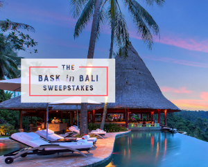 Lucky Brand – Win a trip for 2 to Bali