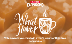 Massimo Zanetti Beverage – Win 1 of 8 prizes of a year supply of canisters each