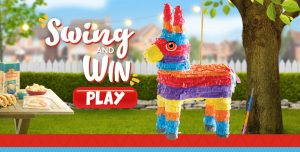 Mission Foods – Pinata Game – Win 1 of 5,723 Instant Win prizes including Amex Gift card valued at $500 each; Google Home Maxes valued at $400 each and more