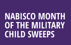 Mondelez Global – Nabisco Month of the Military Child – Win a grand prize of a $5,000 check to be used for education OR 1 of 5 minor prizes