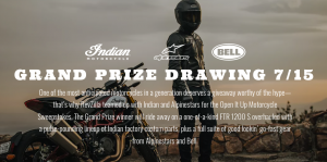 Revzilla Motorsports – Win a grand prize package valued at $22,000 OR 1 of 8 minor prizes
