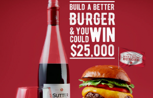 Sutter Home Winery – Win a grand prize of $25,000 cash OR many other minor prizes