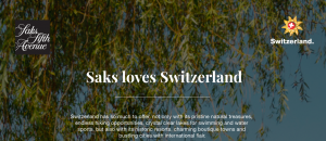 Switzerland Tourism – Win a grand prize of a trip for 2 to Switzerland valued at $16,000 OR 1 of 2 minor prizes