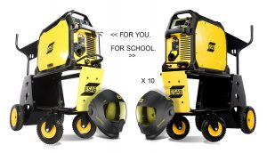 The ESAB Group – Win a prize package