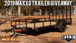 Turnin Rust & Maxxd Trailers – Win a 2019 Angle Single Axle Utility Trailer
