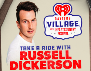 iHeart Radio – Win a trip for 2 to attend the iHeart Country Music Festival in Austin, TX