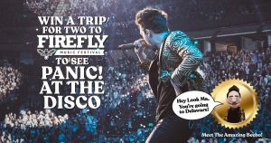 AEG Presents – Win a trip package for 2 to see Panic! At The Disco performance in Dover