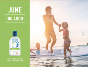 Blue Lizard – Win 1 of 4 summer adventures