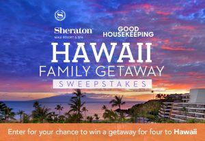 Hearst Magazine – Good Housekeeping – Win a family getaway of 4 to Maui