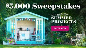 Meredith – Better Homes & Gardens – Win a $5,000 check