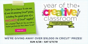 Michaels Stores – Win a grand prize pack valued at $1,500 OR 1 of 60 minor prizes