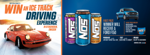 NOS Energy Company – Win a trip package for 2 to Sweden, 1 of 2 vehicle prizes OR Weekly prizes