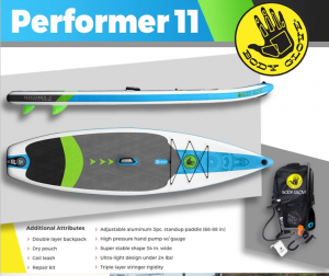 Paddling – Win a Body Glove Performer 11
