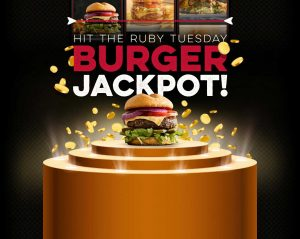 Ruby Tuesday – Win a grand prize of a trip for 2 to Las Vegas for 6 days PLUS 12 gift cards OR many other minor prizes