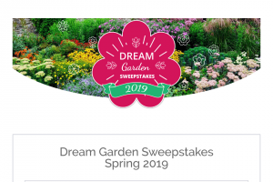 American Meadows – Dream Garden – Win Gift Certificates for $1000 each from Gardener's Supply and American Meadows High Country Gardens or Landreth Seeds
