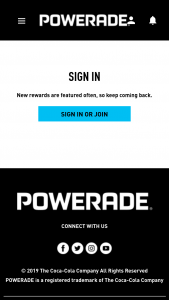 Coca-Cola – Powerade & Uswnt Sip & Scan – Win a personalized jersey