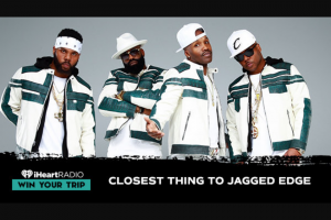 Iheart – Closest Thing To Jagged Sweepstakes