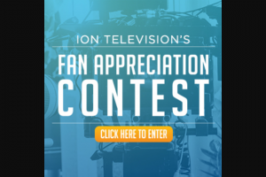 Ion Television – Fan Appreciation Contest – Win a trip for such winner and one guest to Tampa