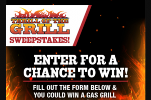 Jtg Daugherty Racing – Kroger Thrill Of The Grill – Win A gas grill valued up to $1000.