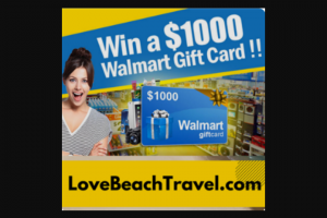 Love Beach Travel – $1000.00 Give Away Sweepstakes