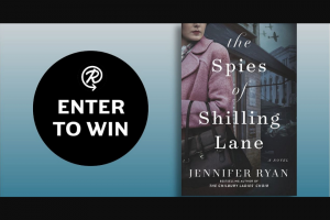 Penguin Random House – The Spies Of Shilling Lane – Win a copy of The Spies of Shilling Lane by Jennifer Ryan