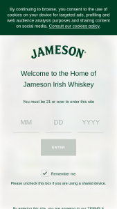 Pernod Ricard – Jameson Great American Beer Festival Sweepstakes