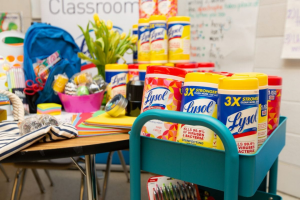 Reckitt Benckiser – Lysol School Supply Wish List Giveaway – Win gift card and a case of Lysol Disinfecting Wipes per package (estimated ARV $530).