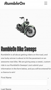 Rumbleon – Bike – Win a 2018 Harley-Davidson FLDE Deluxe (Softail Deluxe) Electric Blue with Pin Striping