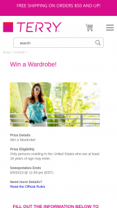Terry Bicycles – Wardrobe – Win a $500 gift certificate