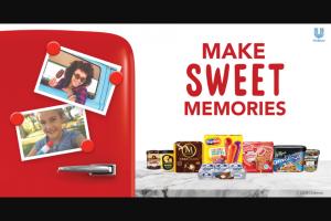 Unilever – Summer Ice Cream  – Win a $5 Albertsons gift card