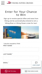 Viking Cruises – 2019 Q2 Rhine Or Iconic Giveaway Sweepstakes