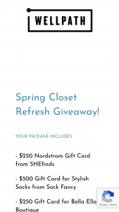 Wellness Creations – Spring Closet Refresh Sweepstakes