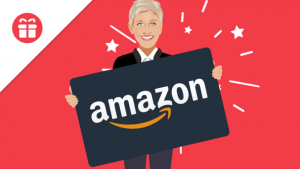 Ellen Tube – Win a $500 gift card from Amazon