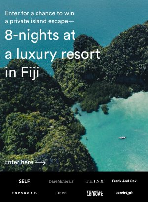 Frank And Oak – Win a holiday prize package for 2 for 8 nights in Fiji