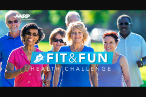 Aarp – Fit & Fun Health Challenge Sweepstakes
