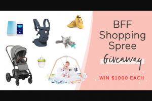 Babylist – Bff Shopping Spree Giveaway Sweepstakes | GiveawayUS com