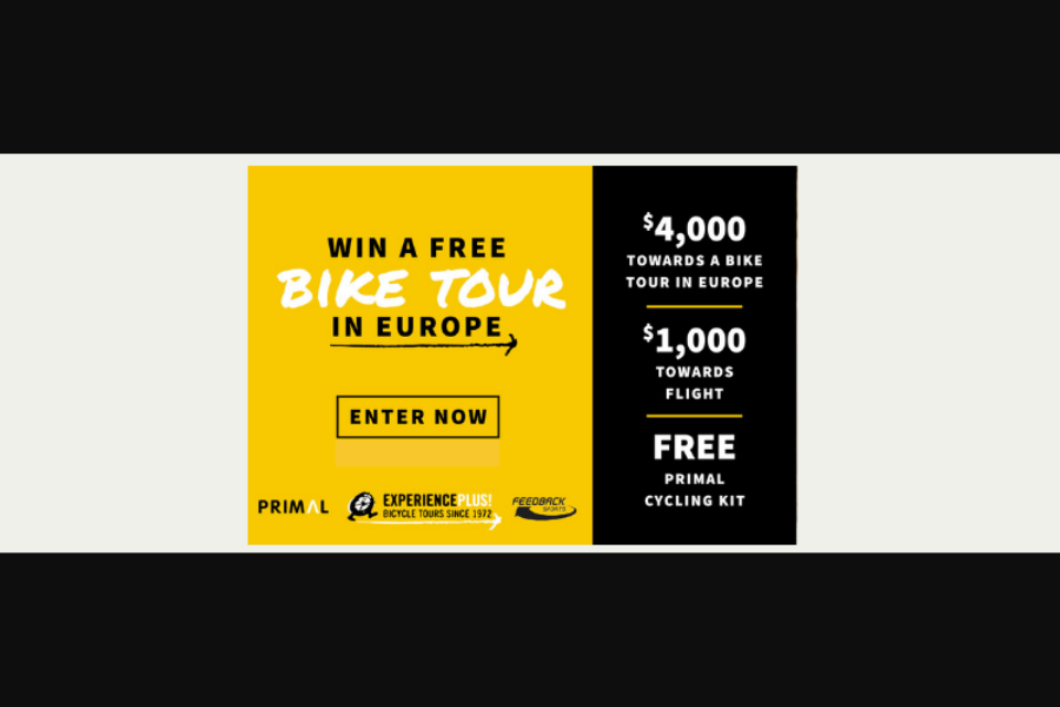 Experienceplus – Free Cycling Trip In Europe – Win One