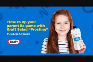 Kraft – #lielikeaparent #contest – Twitter Sweepstakes