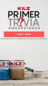 Masterchem – Kilz Primer Trivia – Win one $1000 VISA Gift Card