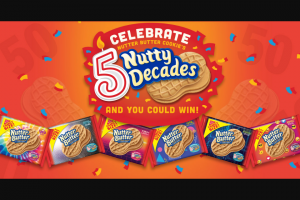 Mondelez Global – Nutter Butter's 50th Birthday Celebrate 5 Nutty Decades – Win Woodstock NY