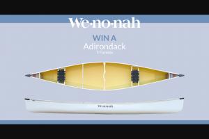 Paddlingcom – Wenonah Canoe – Win the Wenonah Adirondack Canoe in T-Formex Canoe