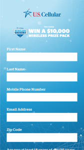 Us Cellular – Wireless Warrior Sweepstakes