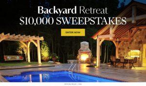 Meredith – Martha Stewart – Win $10,000 for backyard r