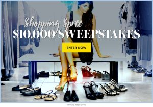 Meredith – Shape Magazine – Win a $10,000 Shopping Spree