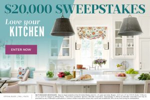 Meredith – Southern Living – Win $20,000 for your kitchen