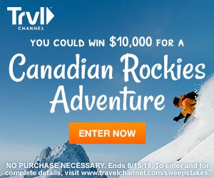 Travel Channel – Win a $10,000 check