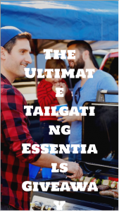Ate It All – Ultimate Tailgating Essentials – Win Gift Card courtesy of Man of Many $150 gift card courtesy of 1440.