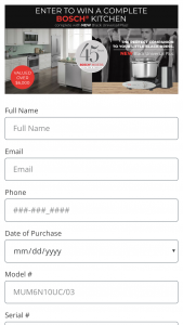 Bosch – Kitchen Giveaway – Win A COMPLETE NEW BOSCH KI ...